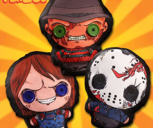 Mezco Toyz Flatzos Horror Plush Toys are Delightfully Flat