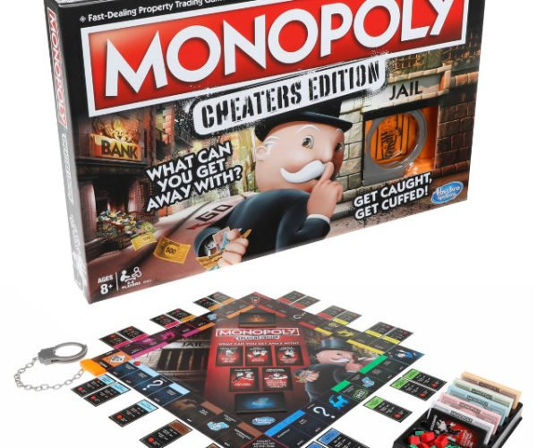Special Cheaters Edition of Monopoly Coming Soon