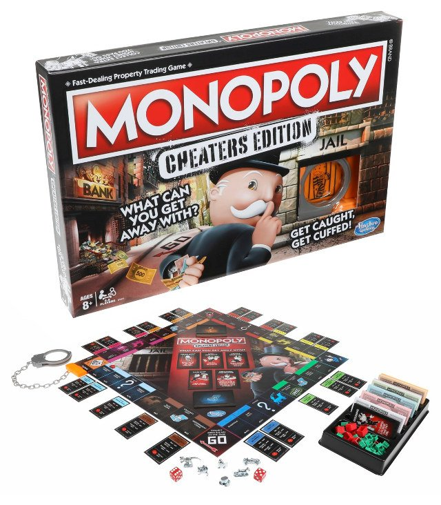 Hasbro introduces new version of Monopoly for cheaters