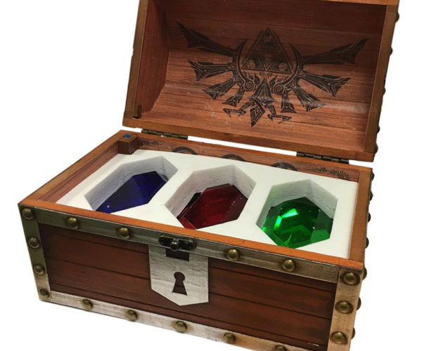 Legend of Zelda Treasure Chest Comes Loaded with Colorful Rupees