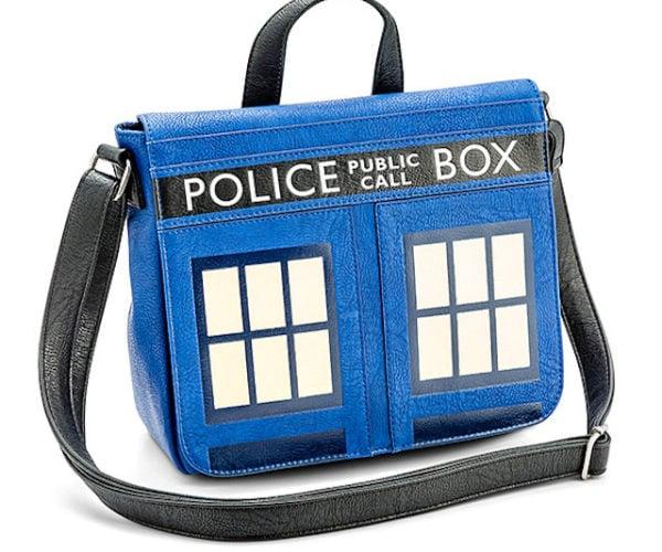 Doctor Who TARDIS Bag: Portable Police Box