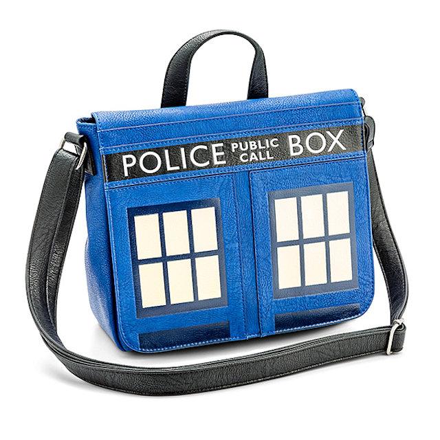 Details about  /Doctor Who TARDIS Police Box Canvas Crossbody Messenger School Shoulder Bag