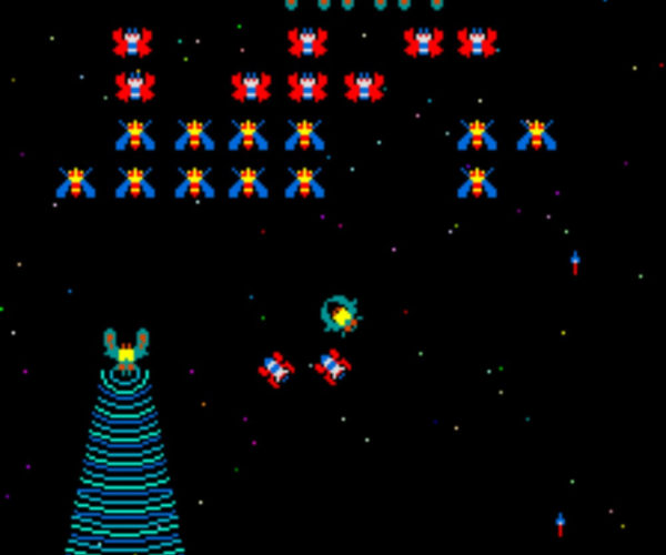 Artificial Intelligence Learns To Play Galaga, There Goes My High Score