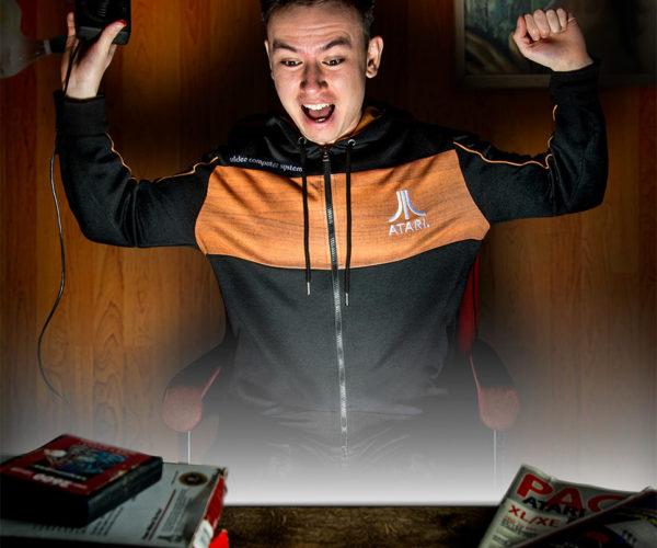 Atari 2600 + Hoodie = Woodie