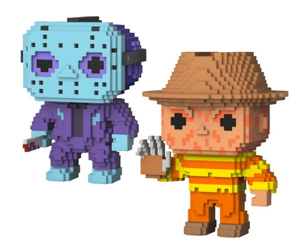 Funko POP! 8-Bit Horror Figures: Pixel Panic!