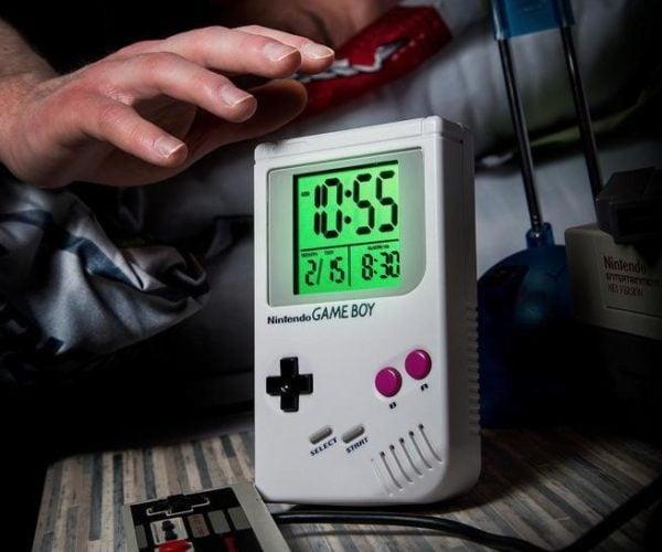 Game Boy Alarm Clock: It's Super Mario Time!