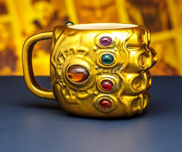 Infinity Gauntlet Coffee Mug: Rule the Universe with Caffeine
