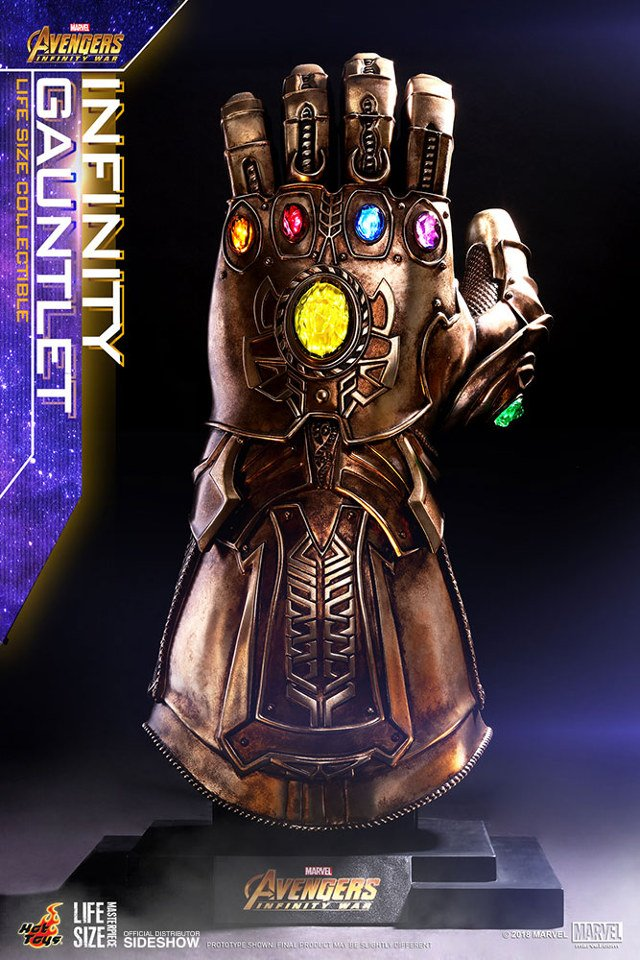 Life Size Infinity Gauntlet Replica The Real Power Glove
