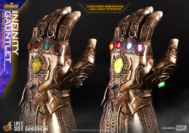 Life-Size Infinity Gauntlet Replica: The Real Power Glove