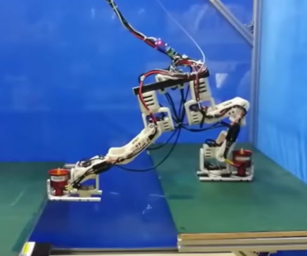 This Robot Can Do Splits with Its Jet-Powered Feet