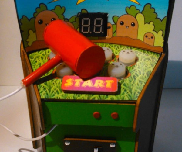 Holy Whack-a-Molé: Check out this Working Mini Whack-a-Mole Game
