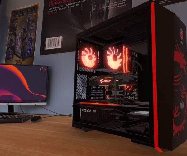 PC Building Simulator Lets You Build the Virtual Gaming Rig of Your Dreams