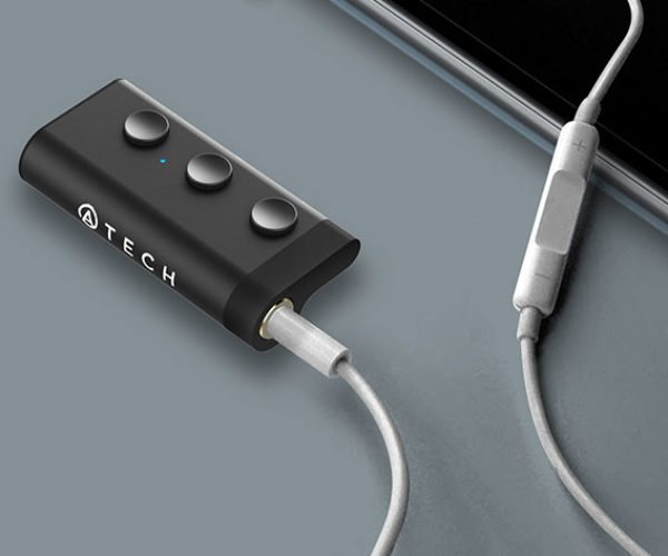 This Bluetooth Receiver Makes Your Wired Earphones Wireless