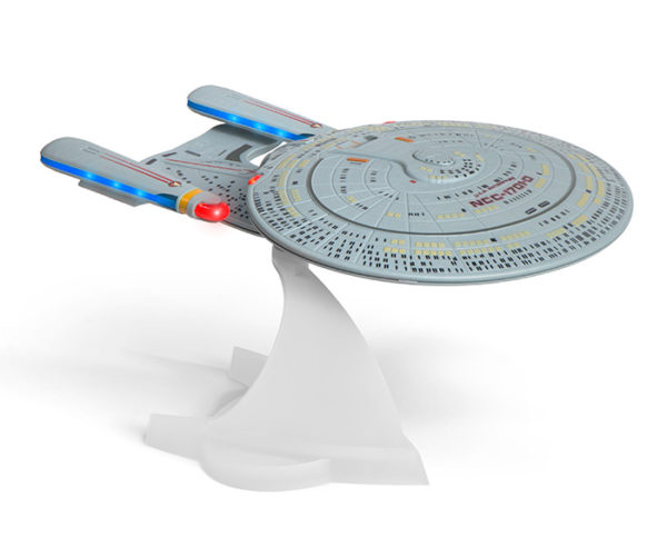 Star Trek U.S.S. Enterprise NCC-1701-D Bluetooth Speaker: Bass The Final Frontier