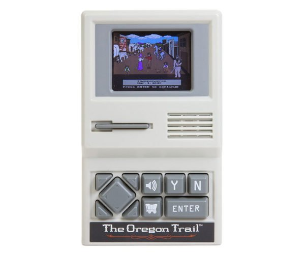 The Oregon Trail Gets a Dedicated Handheld Edition