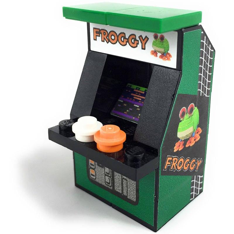 Tiny Lego Arcade Cabinets Insert Brick To Play Technabob