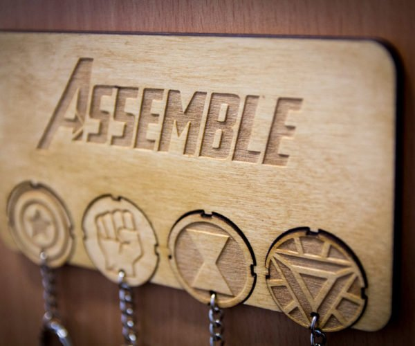 Assemble Your Keys with This Avengers-inspired Key Rack