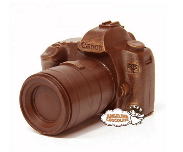 "Chocolate Canon 5D Camera: Smile and Say ""Cacao!"""