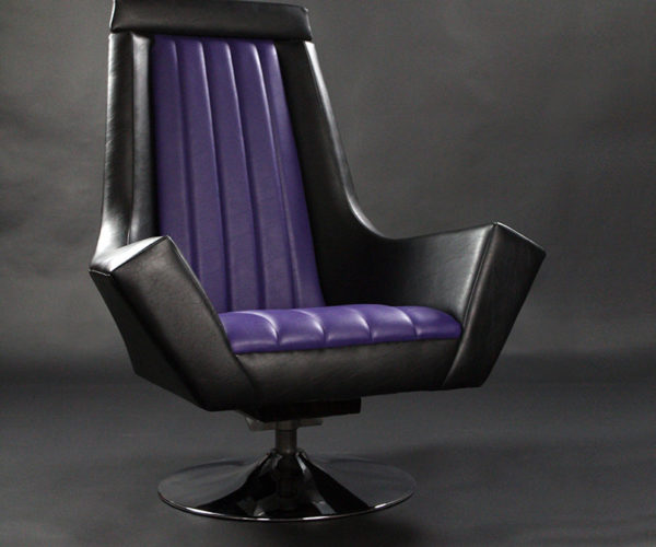 Give in to The Dark Side with The Emperor's Throne Armchair