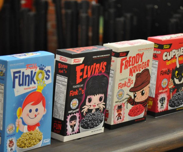 Funko to Make Cereals with Mini POP! Prizes Inside