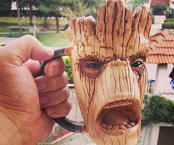 Groot Ceramic Mug: I Am Drink!
