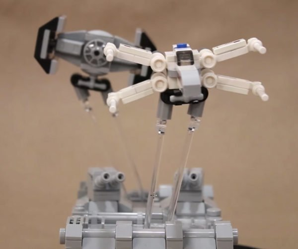 Star Wars Trench Run LEGO Sculpture: Stay on Target!