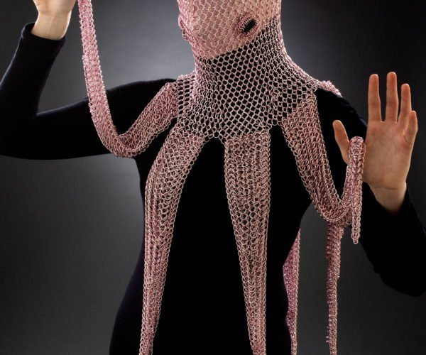 Chainmaille Octopus Hood: Eight Arms to Hold You