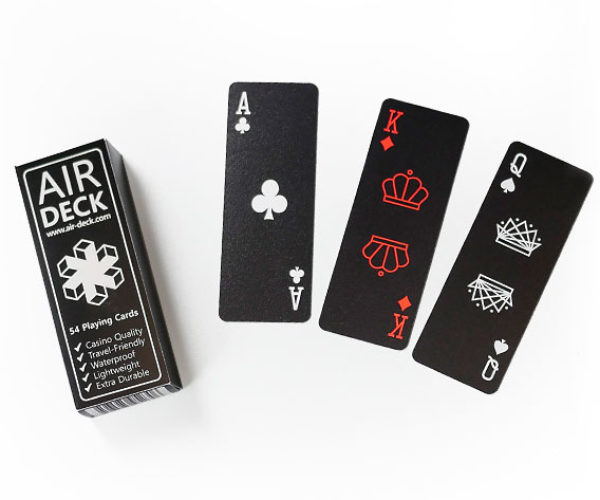 Air Deck Playing Cards Literally Cut the Cards