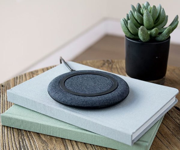 Give Your Phone a Wireless Charge with This Stylish Qi Charger