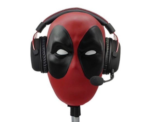 Deadpool Headset Stand: Maximum Volume
