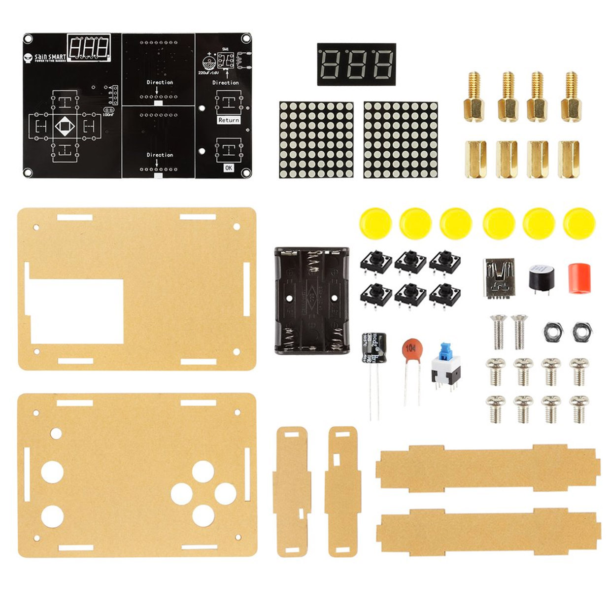 Build Your Own Minimal Gaming Handheld Technabob Simple Circuit Yourself Assembly Is And Easy To Do By As Long You Have Basic Soldering Skills When Its Ready Go Can Play It Using Either Usb Or Battery