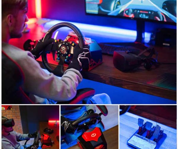 Feel VR Force Feedback Racing Wheel Promises Serious Immersion