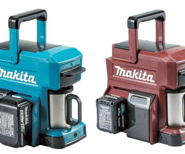 Makita Coffee Maker Runs on Power Tool Batteries