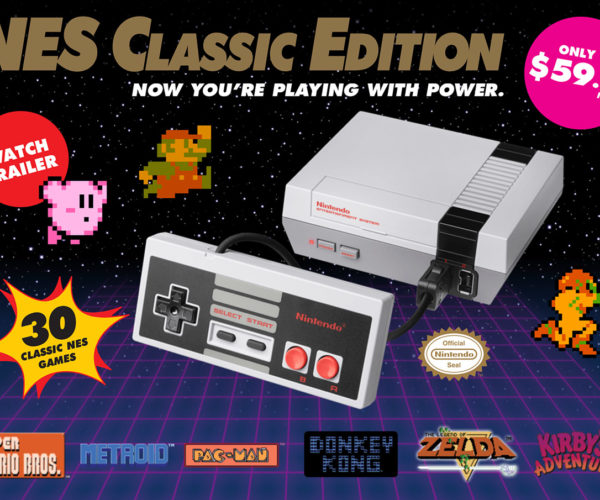 NES Classic Edition Re-Release Date Announced