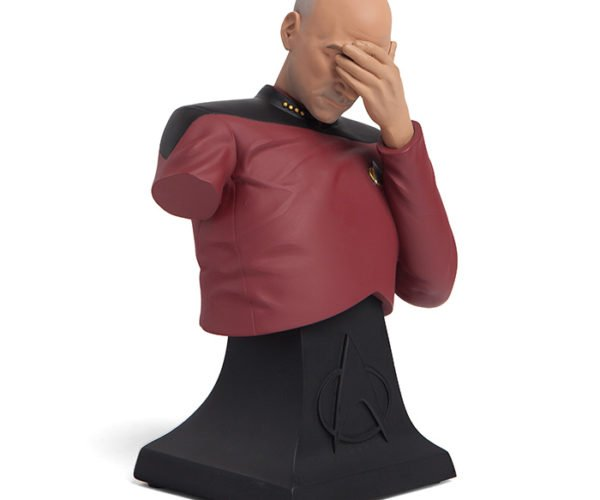 Star Trek TNG Picard Facepalm Bust: Oh the Stupidity!