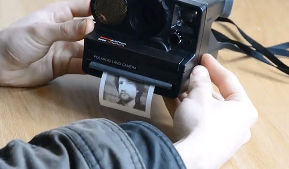 This Polaroid Camera Prints on Receipt Paper