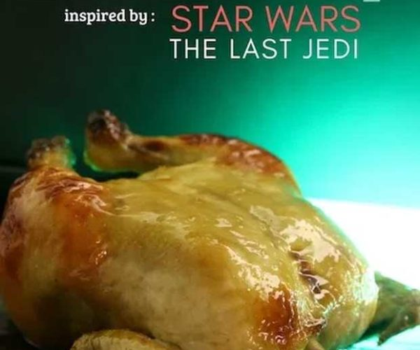 Celebrate May the 4th with a Porg-ish Hen Dinner