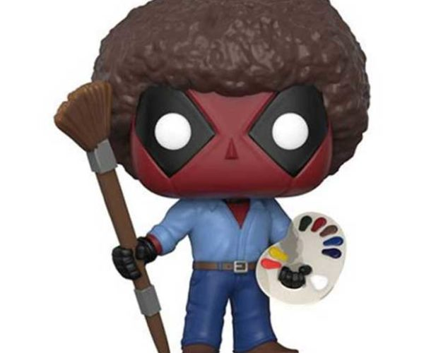 Deadpool Bob Ross Funko POP! Figure: Happy Little Chimichangas