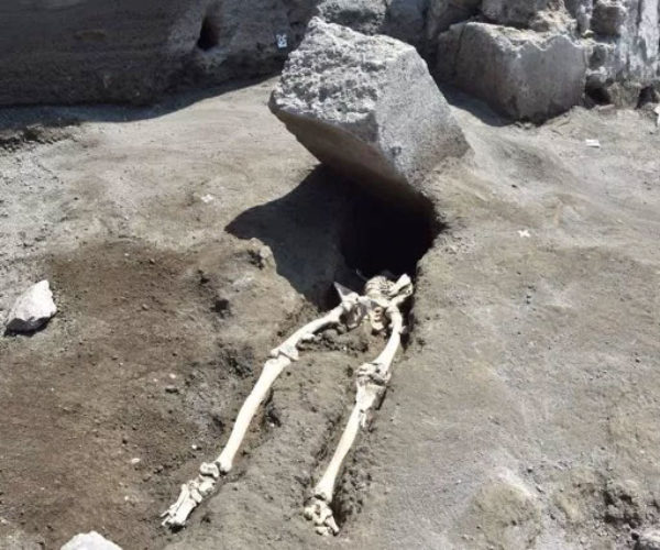 Archaeologists Find Remains of Pompeii's Unluckiest Victim