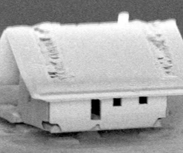 World's Smallest House Is Invisible to the Naked Eye