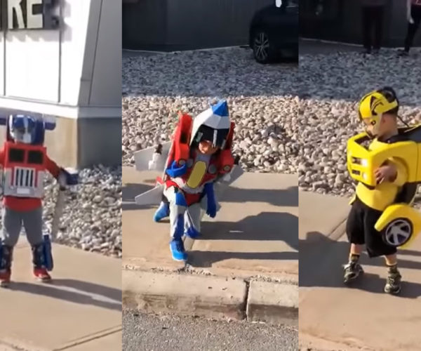 Kids In Transformers Costumes Are More Than Meets The Eye