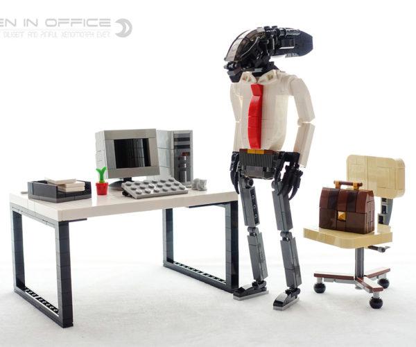 Get Back to Work, LEGO Alien!
