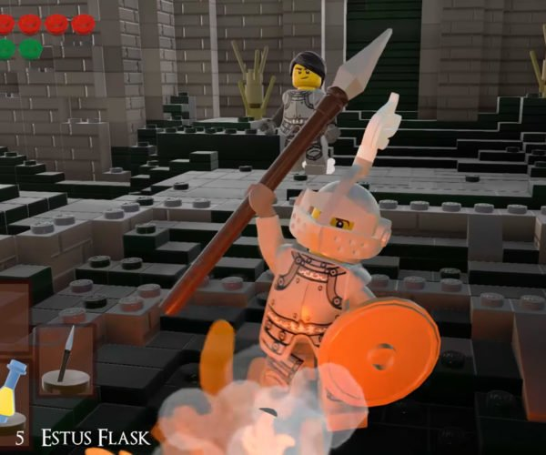 Fan Recreates Dark Souls in LEGO Worlds