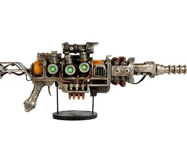 Fallout 1:1 Plasma Rifle Replica Won't Shoot Your Eye Out