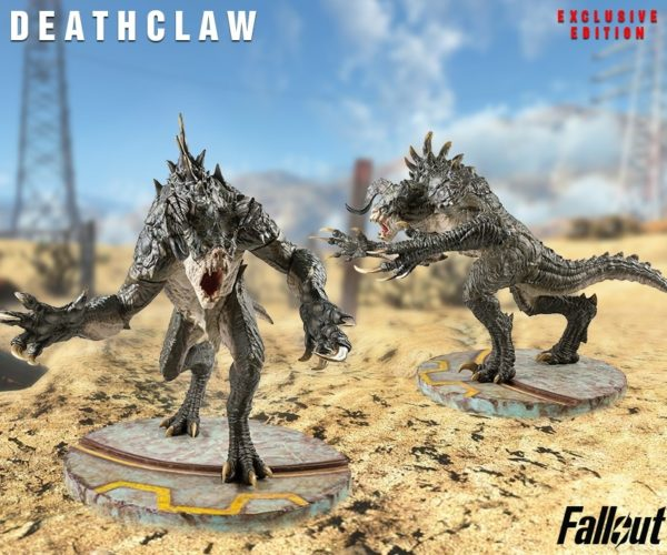 This Fallout Deathclaw Statue Is Massive and Terrifying
