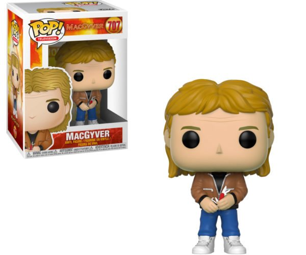 MacGyver POP! Action Figure Is Business in the Front, Party in the Back