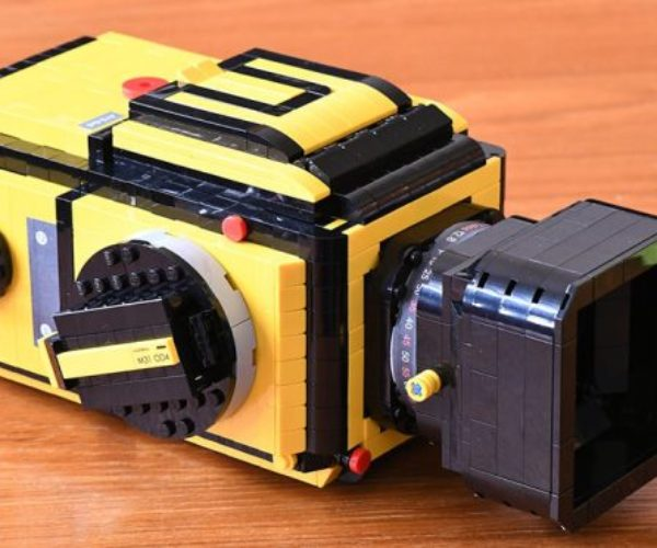 LEGO Hasselblad 503CX Camera Looks Just Like the Real Deal