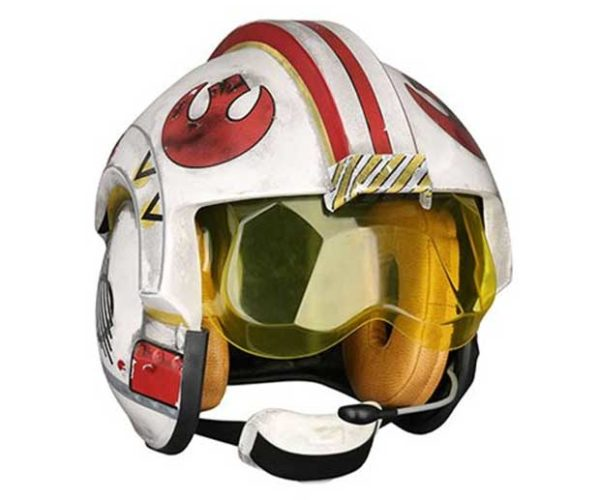 Star Wars Luke Skywalker Pilot Helmet Replica: Red Five, Standing By!