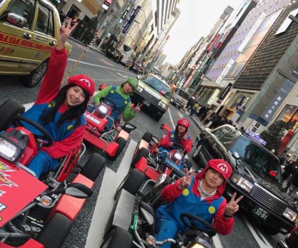 Take a Mario Kart Tour of Japan