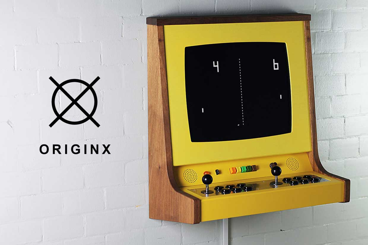 Go Back To The Arcade With The Pong Inspired Originx Cabinet